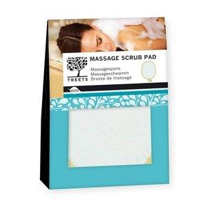 Treets loofah massage scrub pad