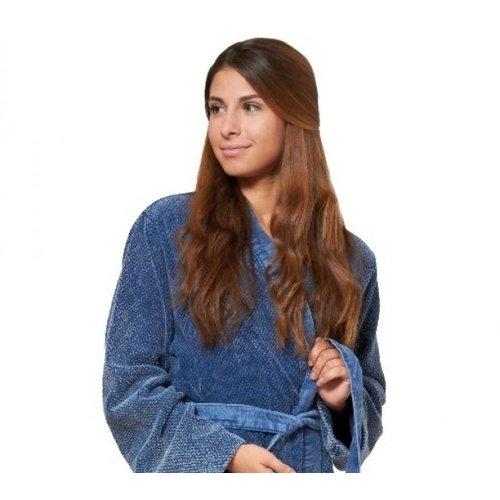 Lasa Home petrol kimono badjas small