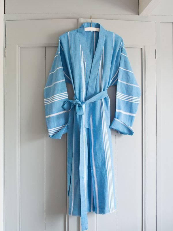 68466720531 Dunne badjas kopen? Bestel je turquoise unisex Ottomania S badjas ...