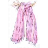 kikoy XL strandlaken candy stripes pink