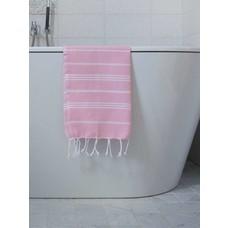 Ottomania hamam handdoek poederroze