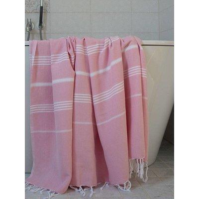 Ottomania hammam strandlaken roze 220x160cm