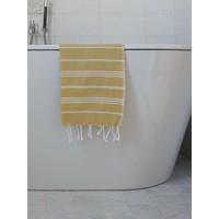 hamam handdoek mosterd
