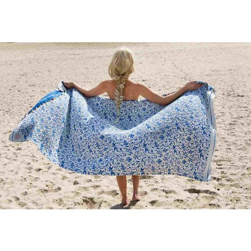 Call it Fouta! hamamdoek Florenza double face royal blue