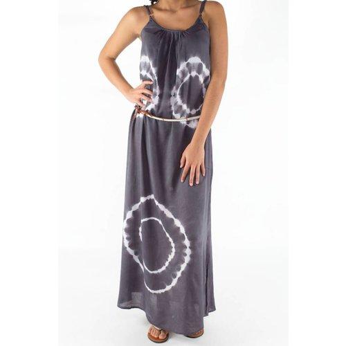 Mzury maxi dress strandjurk Batik gray maat L/XL