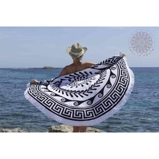Call it Fouta! Greek Roundie d'Luxe black & white