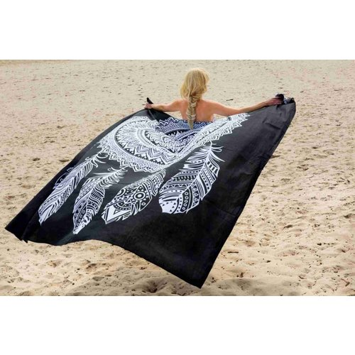 Call it Fouta! Strandlaken Gypsy Square Dream Catcher black