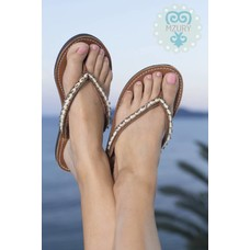 Mzury Slippers Love Ocean bronze