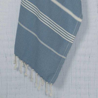Lalay hamamdoek XXL Costa air blue 170x220cm