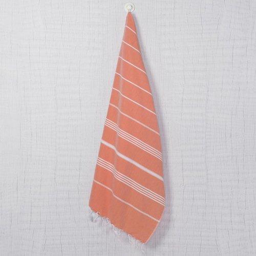 Lalay hamamdoek XXL Costa orange 170x220cm