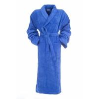 bamboe sauna badjas blauw