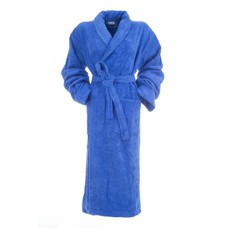Hamams own bamboe badjas blauw