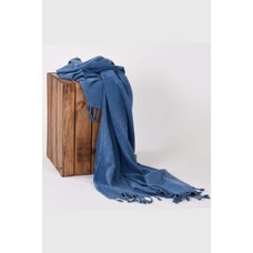 Hamams own hamamdoek Stone denim blue 180x90