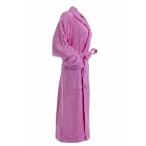 Hamams own bamboe sauna badjas roze