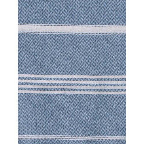 Ottomania hamamdoek jeansblauw