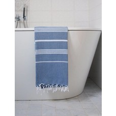 Ottomania hamamdoek marineblauw
