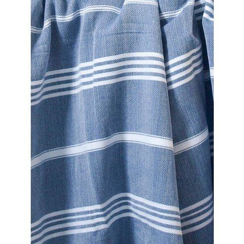 Ottomania hammam strandlaken marineblauw