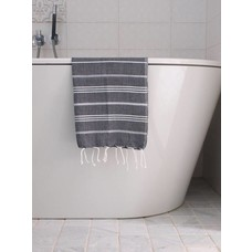 Ottomania hamam handdoek zwart