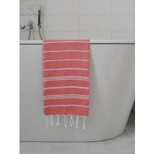 Ottomania hamam handdoek steenrood