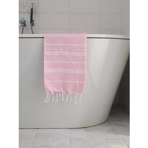Ottomania hamam handdoek roze