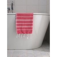 hamam handdoek robijnrood