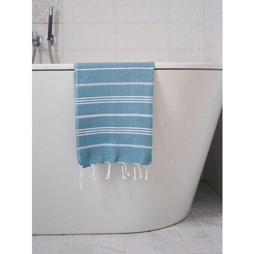 Ottomania hamam handdoek petrol
