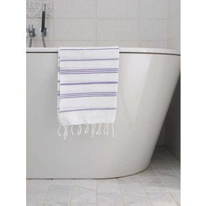 Ottomania hamam handdoek paars