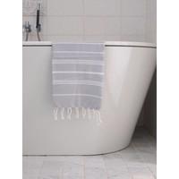 hamam handdoek lichtgrijs