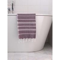 hamam handdoek aubergine