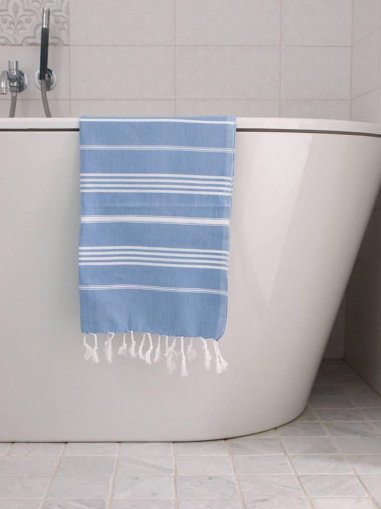 a925cb8cb7b Blauwe hamam handdoek kopen? Die bestel je voordelig online bij ...