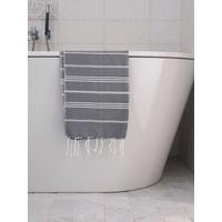 hamam handdoek donkergrijs