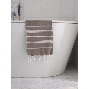 Ottomania hamam handdoek donkerolijfgroen