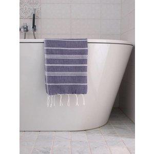 Ottomania hamam handdoek donkerpaars