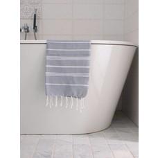 Ottomania hamam handdoek grijs