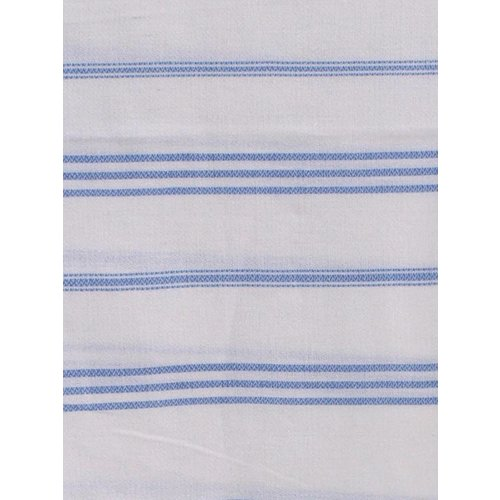 Ottomania hamam handdoek lavendelblauw met witte strepen 100x50cm
