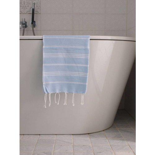 Ottomania hamam handdoek lichtblauw
