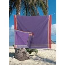 PURE Kenya kikoy strandlaken Zambarau purple