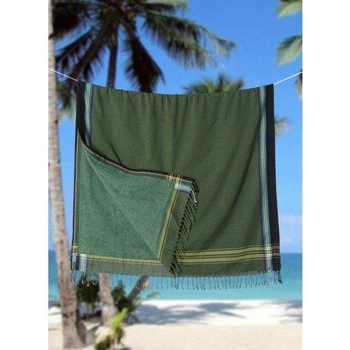 PURE Kenya kikoy strandlaken Jeshi green