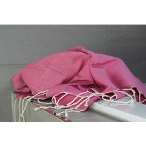 Call it Fouta! hamamdoek Honeycomb pink