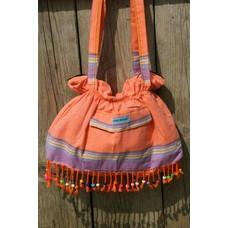 PURE Kenya kikoy beach baggie orange