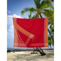 kikoy handdoek red orange