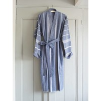hamam badjas marineblauw