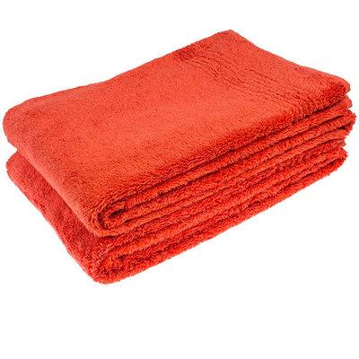 Hamams own bamboe sauna handdoek rood