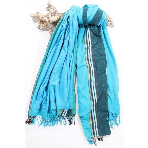 PURE Kenya kikoy XL strandlaken Jambo blue