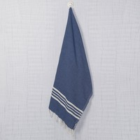 hamamdoek Krem Sultan royal blue