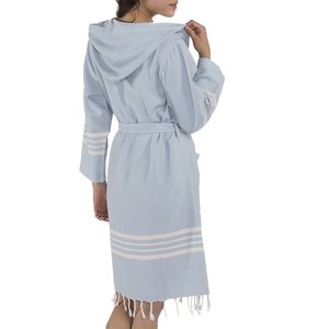 Lalay hamam badjas Sun light blue