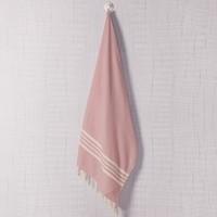 hamamdoek Krem Sultan rose pink