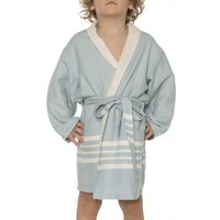 hamam kinderbadjas light blue