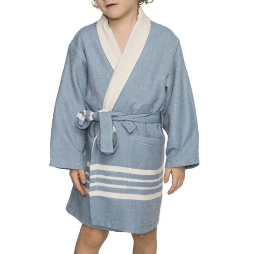 Lalay hamam kinderbadjas air blue