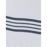 gevoerde hamam badjas Nijl white navy